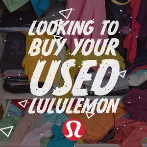 🦊ISO Your Used Lululemon!🦊
